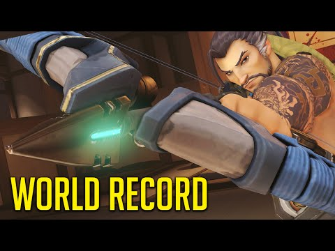Longest Arrow Shot EVER! The Hanzo Trap Strategy, Charging In!