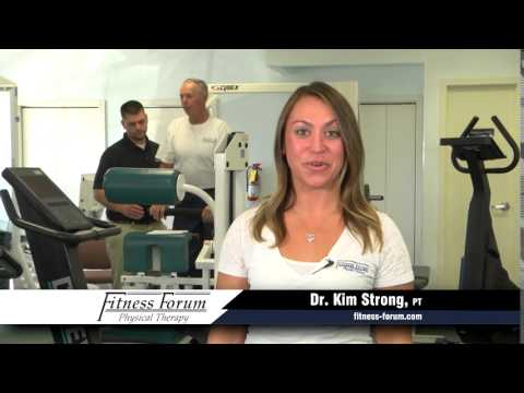 Fitness Forum Commercial Kim Strong