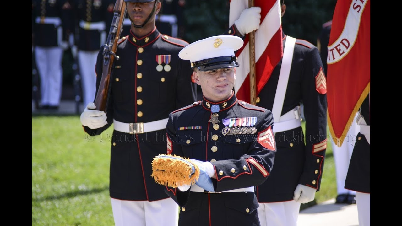 "Medal of Honor Flag Presentation for Cpl. William ""Kyle ..."