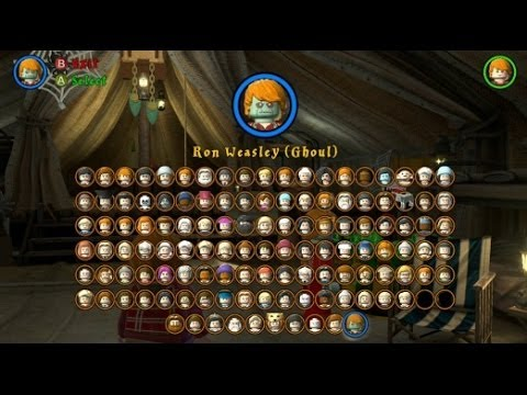 Lego Harry Potter Years 5 7 All 10 Dlc Characters