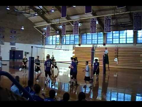 MSJ vs. John Carroll Varsity Volleyball Game Point