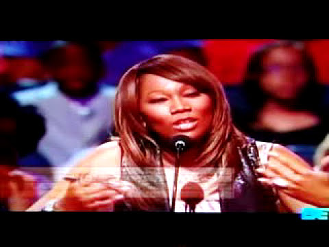 LeAndria Johnson singing God Is Trying To Tell You Something