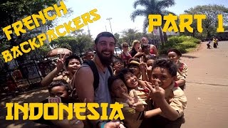 French Backpackers in Indonesia - Part 1