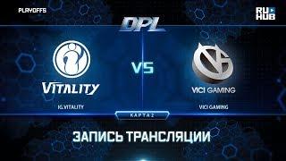 IG.Vitality vs Vici Gaming, DPL 2018, game 2 [Lex, 4ce]