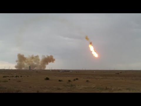 Failed Missile Launch Ends In Explosion