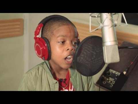 10-year-old rapper has a message to share