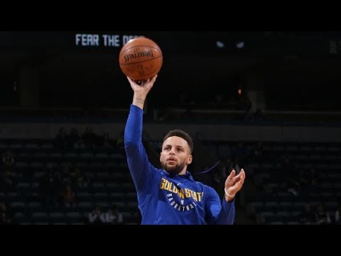Stephen Curry's Full Pre-Game Warmups in Toronto