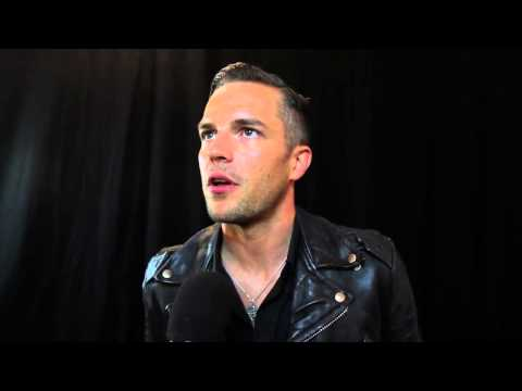 The Killers&#039; Brandon Flowers wins the Q Idol Award at the 2012 Q Awards