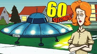 ALIEN INVASION and RESCUED BY MILITARY! - 60 Seconds Gameplay