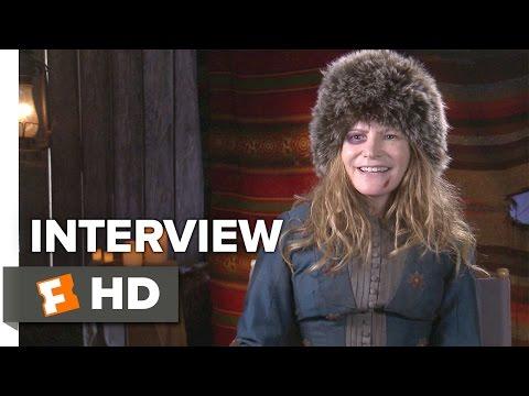The Hateful Eight Interview - Jennifer Jason Leigh (2015) - Quentin Tarantino Movie HD