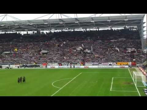 FC SANKT PAULI neue Gegengerade Stadion Stimmung - YOU'LL NEVER WALK ALONE