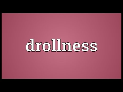 Header of drollness