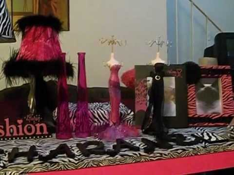 My New Zebra Print & Hot Pink Themed Room Decor
