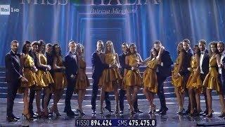 Le 10 Miss rimaste in gara - Miss Italia 2019