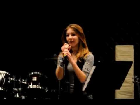 Lady Gaga Speechless- Tori Wilson 12 yrs old Cover