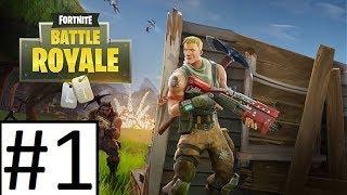 Lets Play Fortnite Battle Royale Episode #1