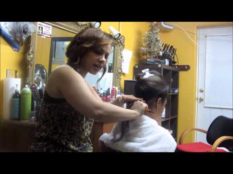 How To Blow Dry Hair Dominican Salon 81