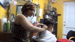 How to BLOWDRY Hair Dominican Style