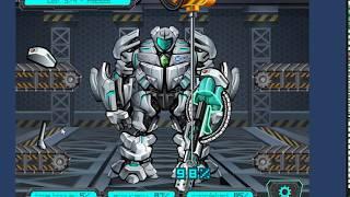 Trò chơi trẻ em 2017- game trẻ em- lắp ghép robot- siêu nhân điện quang p2