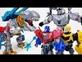 Megatron, Bumblebee, Optimus Prime And Grimlock Transformers Hero Mashers~! - ToyMart TV