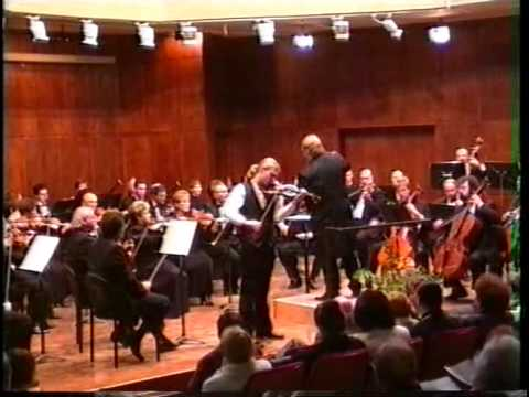 Johnny Gandelsman plays Saint Saens Havanaise
