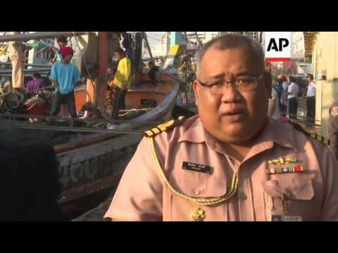 Thai Navy shows off new monitoring technology