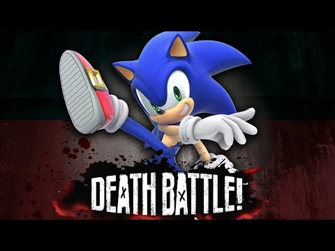 Sonic Booms into DEATH BATTLE!