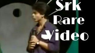 Shahrukh Khan ( SRK ) hosting a Doordarshan show, old rare video. | Kumar Sanu |
