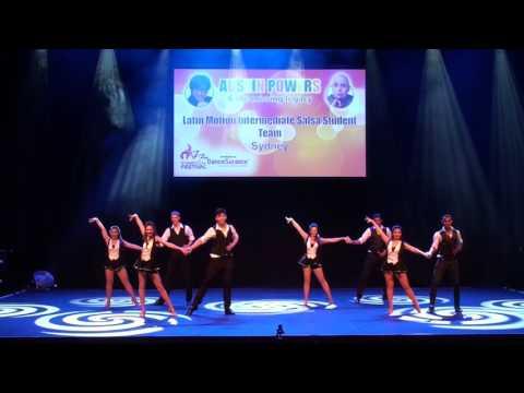 Sydney Latin Festival 2017 - LATIN MOTION INTERMEDIATE SALSA STUDENT TEAM
