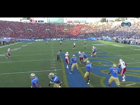 Brett Hundley vs Nebraska 2012