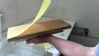 How To Make Thin Sheets Of Beeswax For Foundation, Starter Strips, Candles And Modelling.