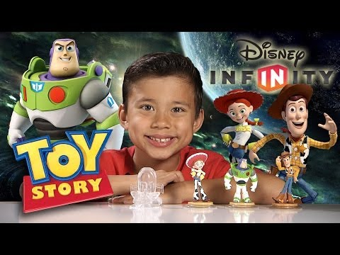 Disney Infinity TOY STORY in SPACE Playset - Unboxing & Gameplay PART 1!