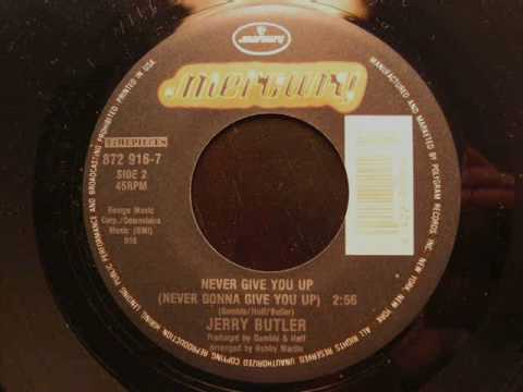 Jerry Butler - Never Give You Up video