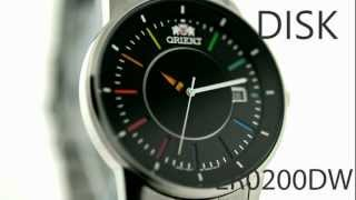 Orient Watch DISK model ER0200DW Rainbow Automatic Mechanical Watch