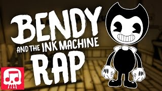 "BENDY AND THE INK MACHINE RAP by JT Music ""Can't Be Erased"""