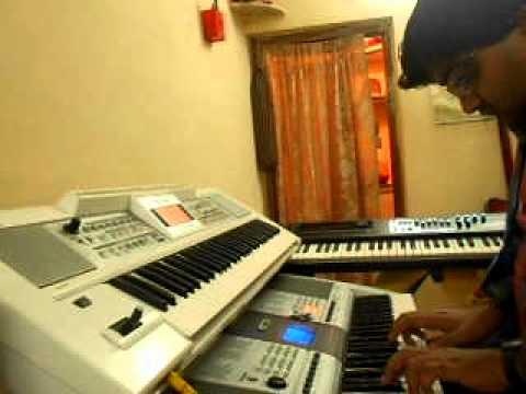 O SAJNA BARKHA BAHAR AAYI on PIANO by PRAWAL