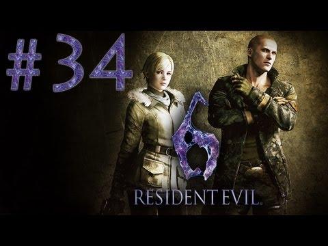 Rеsident Evil 6 - Прохождение игры на русском - Кооператив [#34]