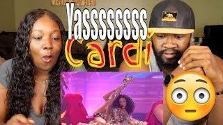 Cardi B Bad Bunny J Balvin I Like It 2018 American Music Awards Reaction