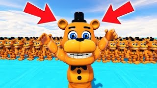 ADVENTURE FREDDY ARMY IN GTA 5! (GTA 5 Mods For Kids FNAF Funny Moments)