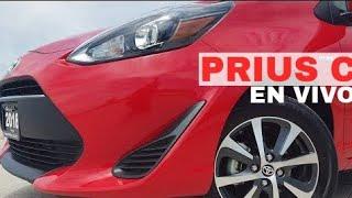🔴Descubre Toyota Prius C 2018 Híbrido Eléctrico Auto SubCompacto