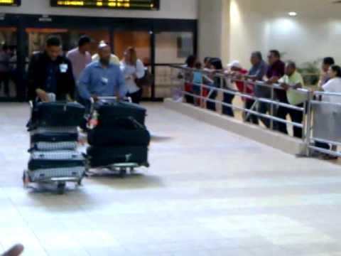 Llegada a Santo Domingo Aeropuerto Internacional Las Americas