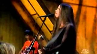 Alanis Morissette - Hands Clean + Interview - Last Call with Carson Daly [02-27-2002] (PART 1)