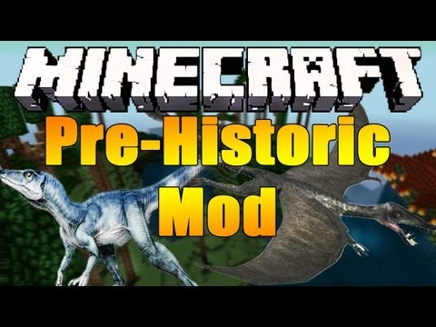 Minecraft 1.4.5 Pre-Historic Mod Vorstellung/Tutorial + Installation [HD/German]