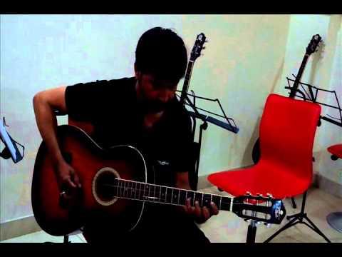 saanson ki zaroorat hai jaise guitar Rdx Academy by Rahul Ballal...