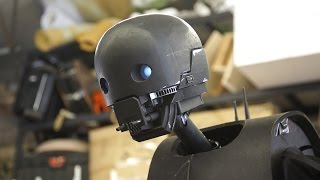 Making a Life-Size K-2SO Droid Puppet!