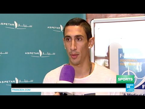 """Ángel Di María: """"I've signed for the PSG to win the Champions league"""""""