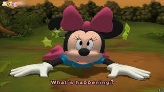 O Rato Mickey | Disney's Hide & Sneak Play As Minnie | All Cutscenes Movie Game | ZigZag Kids HD