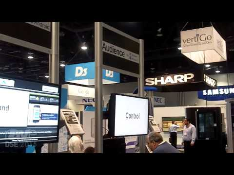 DSE 2015: Capital Networks Takes Over Multiple OS Player Screens with One Mobile App Button