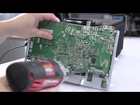 Mitsubishi Toshiba Samsung DLP TV Repair No Picture No HDMI NO VGA - DIY DLP Main Board Replacement
