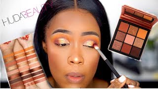 UMMM?! NEW HUDA BEAUTY TOPAZ OBSESSION PALETTE | DARK SKIN